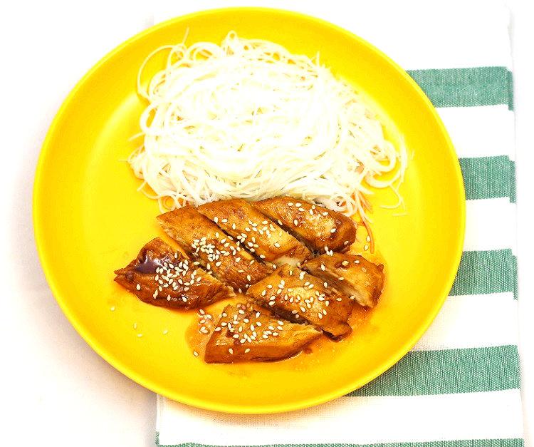 Kurczak w sosie teriyaki