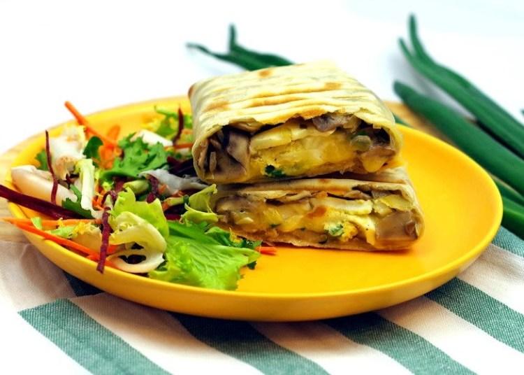Tortilla śniadaniowa 2