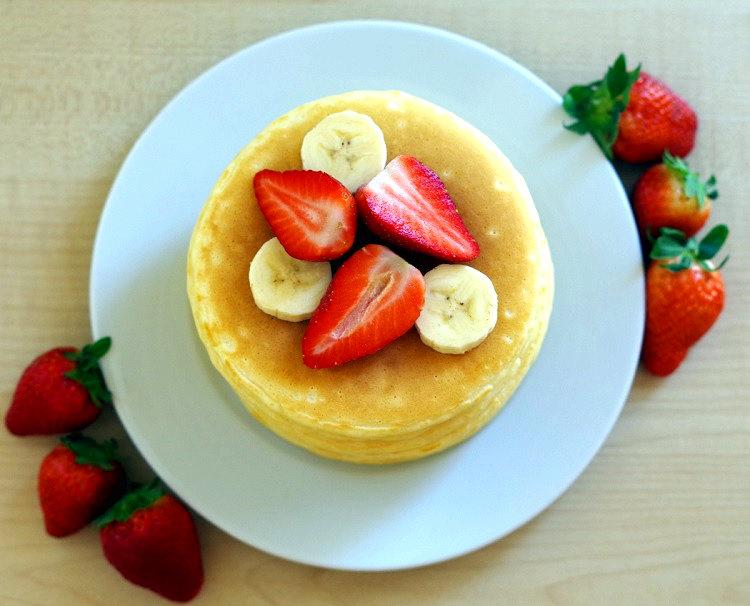 Pancakes na mleku 2