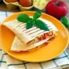 Quesadilla z jajecznicą