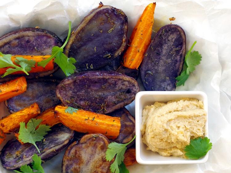 Fioletowe ziemniaki 2