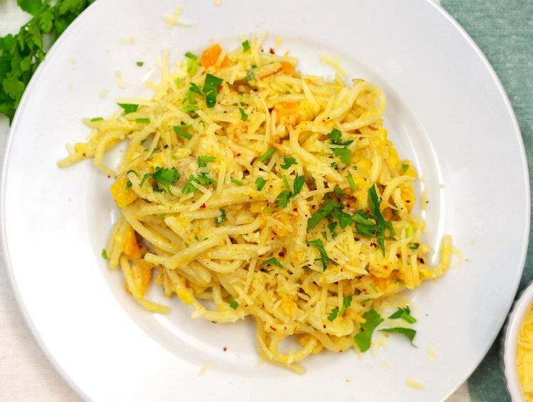 Spaghetti z dynią 2