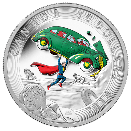 Bullion Mart Super Man Coins