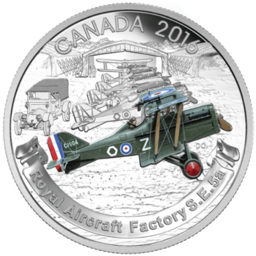 2016 - $20 Pure Silver Coin - Aircraft of the First World War Series