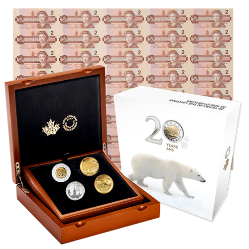 2016 - 4 Coin Set - 20 years in the Minting
