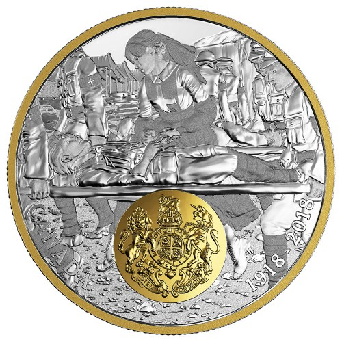 2018 $20 FINE SILVER COIN - FIRST WORLD WAR ALLIED FORCES