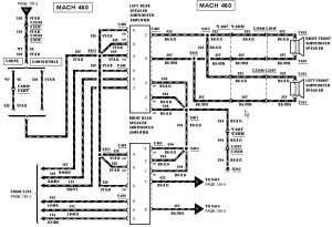 2003 Ford Mustang Stereo Wiring Diagram  Car Autos Gallery
