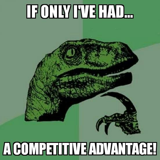 Anche i dinosauri più temuti conoscono i benefici dei vantaggi competitivi