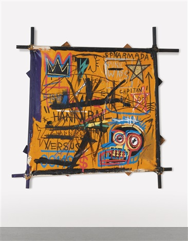 Il top dell'arte contemporanea è rappresentato dal quadro Hannibal di Basquiat