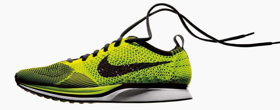 Tutto ebbe inizio con le Nike flyknit, prime sneakers con tomaia in maglia