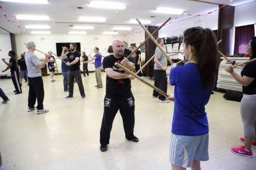 The Philippine stick fighting style has been incorporated into several other styles such as Jeet Kune Do. Image: Maryland JKD Academy and our own JB Jaeger