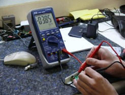 Tester y Pinzas Amperometricas
