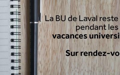 La BU de Laval garde ses portes ouvertes