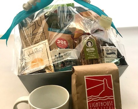 Seattle Coffee Basket