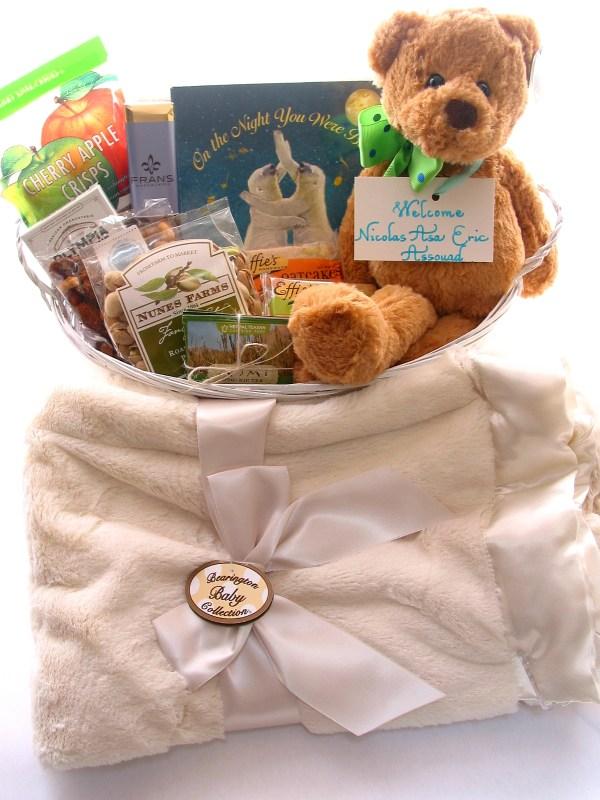 bumbleBdesign - Baby Boy Basket - Seattle baby gifts