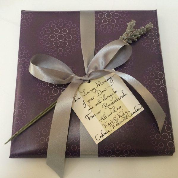 bumbleBdesign-Condolence Book Box - Seattle, WA