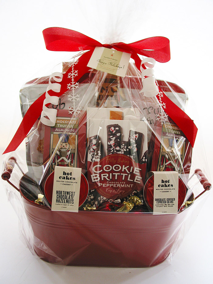 bumble B design's Holiday Snack Basket - Seattle, WA