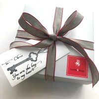 Key to My Heart Box - Valentine's Day gifts - bumble B design, Seattle