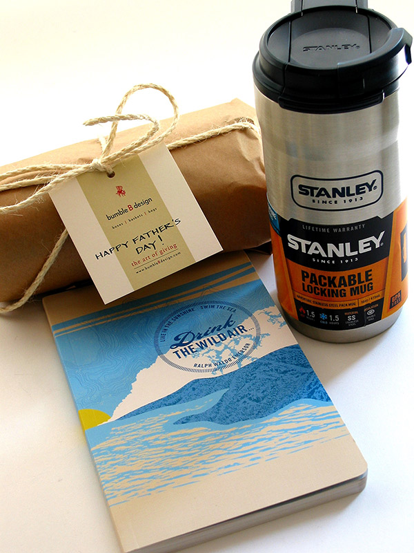Stanley Mug Gift, bumble B design, Seattle WA