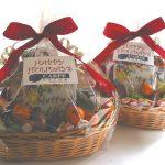 bumbleBdesign-Holiday Snack Basket, extra large with fresh fruit