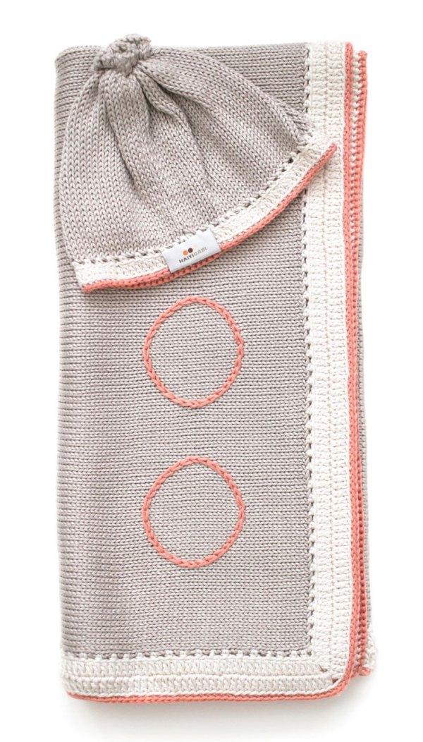Haiti Baby Blanket & Hat Bag -Seattle Baby Gifts