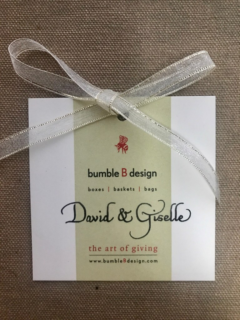 gift tag - front - calligraphy name - bumble B design (1)