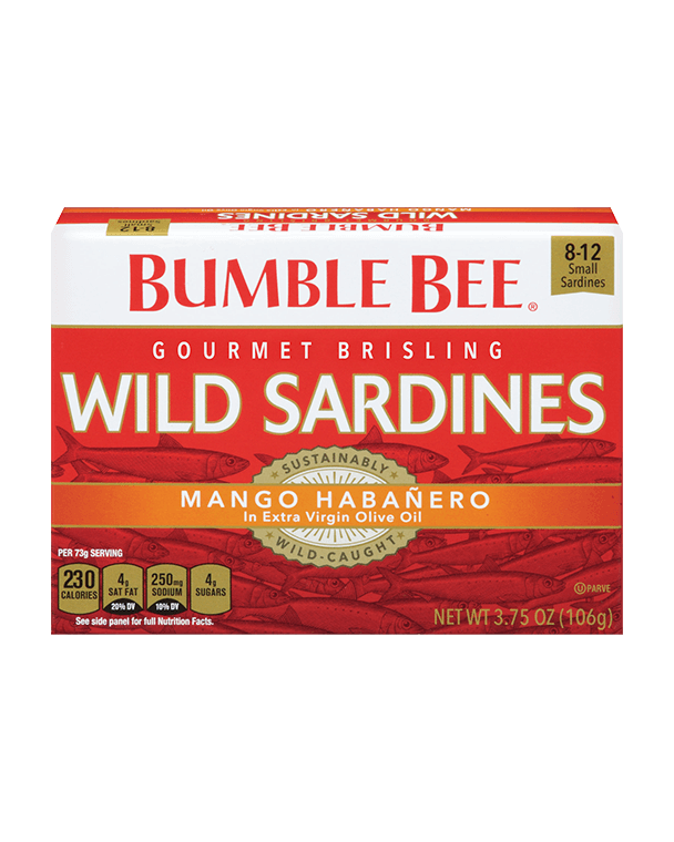 BUMBLE BEE® Skinless & Boneless Sardines in Olive Oil