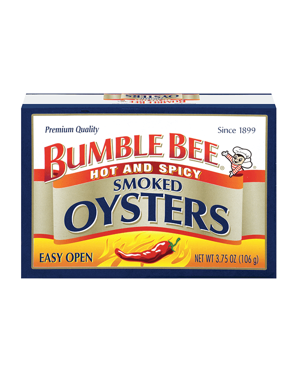 Bumble Bee® Hot & Spicy Smoked Oysters