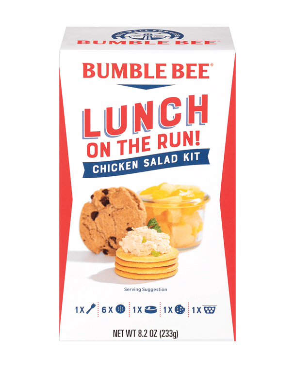 BUMBLE BEE® Lunch on the Run! Chicken Salad – Complete Lunch Kit