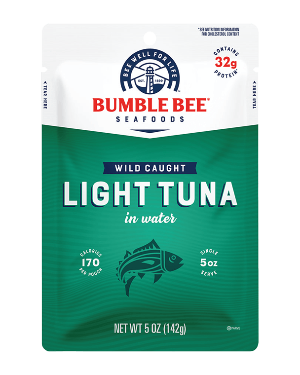 Bumble Bee® Wild Caught Light Tuna in Water Pouch