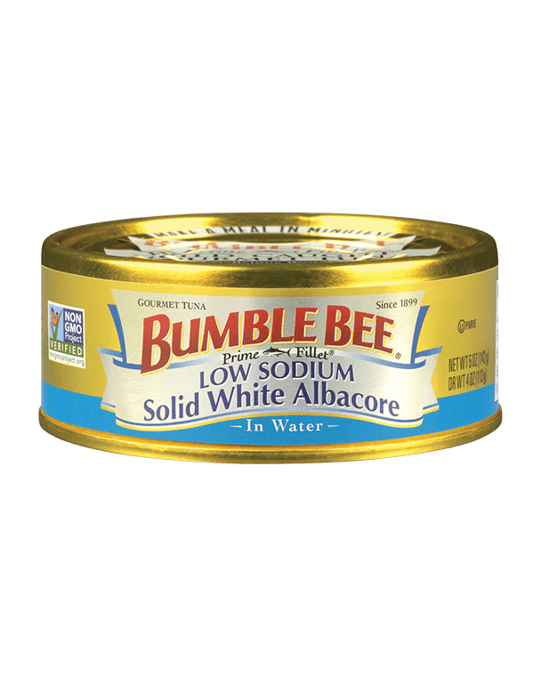 BUMBLE BEE® Prime Fillet® Solid White Albacore Low Sodium In Water