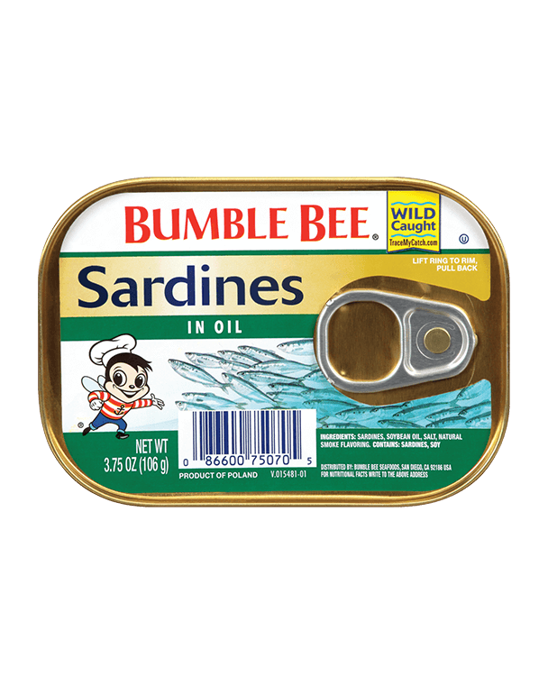 Bumble Bee® Skinless & Boneless Sardines with Peppers