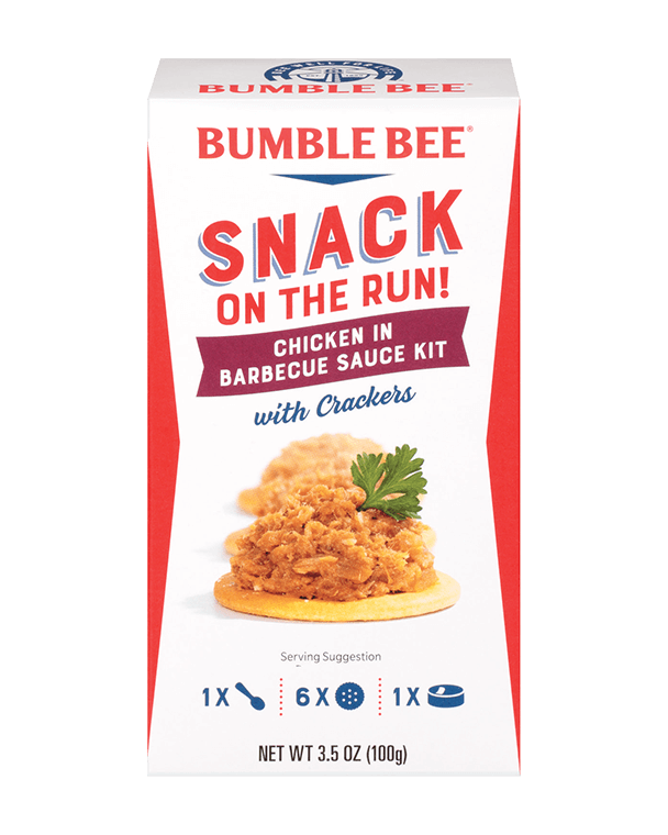 Bumble Bee® Snack on the Run! Buffalo Style Chicken Salad Kit with Crackers