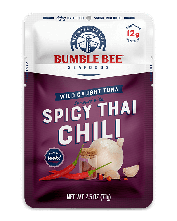 BUMBLE BEE® Spicy Thai Chili Seasoned Tuna Pouch With Spork