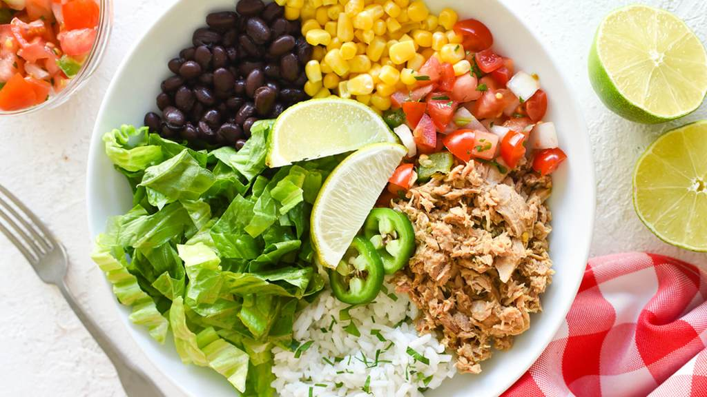 Mexican Tuna Salad Bowl