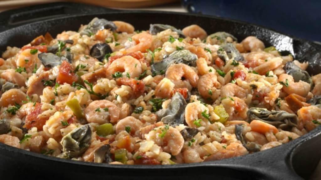 Shrimp & Oyster Jambalaya