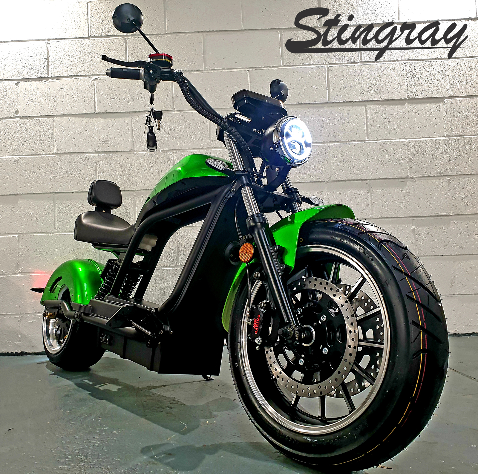 Stingray-Green-Front