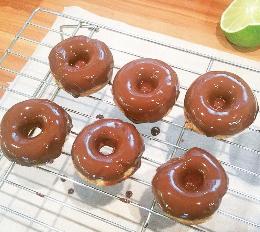 Keto Mini-Zimt-Donuts