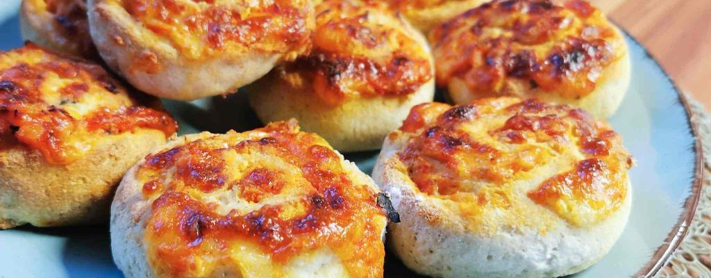 Bumblebees Pizzaschnecken
