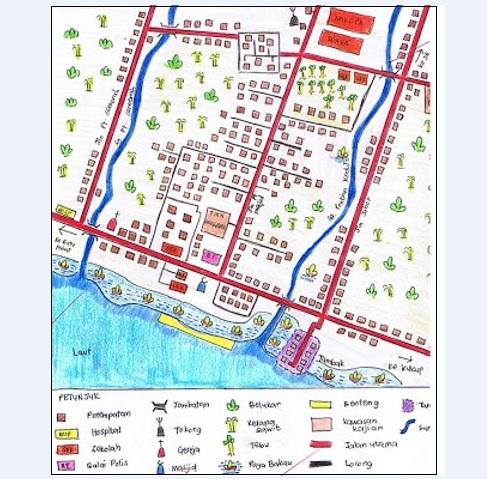 Melukis dan Mentafsir Peta Lakar (Kerja Lapangan / Tugasan