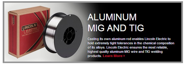 Aluminum MIG and TIG Products