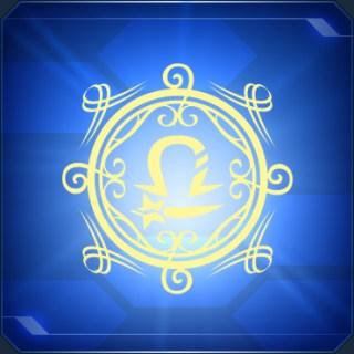 ライブラステッカーALibra Emblem A