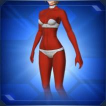 全身タイツF 赤Full Body Tights F Red