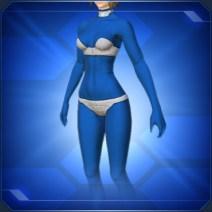 全身タイツF 青Full Body Tights F Blue