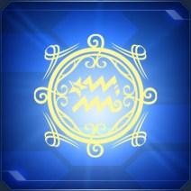 アクエリアスステッカーA Aquarius Sticker A