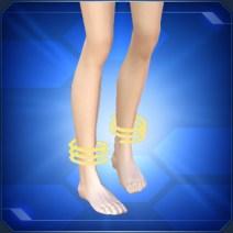 ループアンクレットY Loop Anklet Y