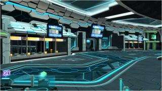 Episode 3 Gate Area Lobby PSO2
