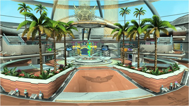 Southern Tropical Style Arks Lobby