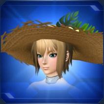 トロピカル麦わら帽子 Tropical Straw Hat