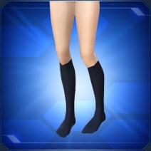 ハイソックス紺 Navy Knee Socks